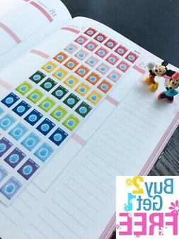 PP002 -- Washing Machine Life Planner Stickers for Erin Cond