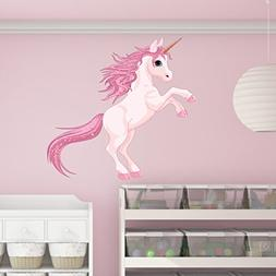 Pretty Pink Unicorn Wall Decal by Style & Apply - Wall Stick