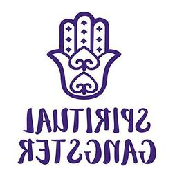 Purple Spiritual Gangster Decal- Vinyl Decal for Yeti Cup, W