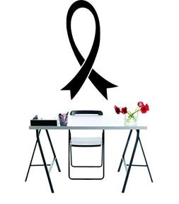 Design with Vinyl RAD 974 1 Breast Cancer Awareness Ribbon M