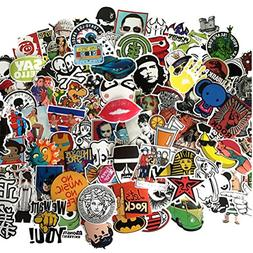 Fngeen Random Sticker 50-500pcs Variety Vinyl Car Sticker Mo