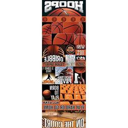 Reminisce Real Sport Die-Cut Cardstock Stickers, 4.25 by 13-