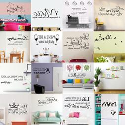 Removable Family Quote Wall Sticker Art Vinyl Decal Mural Ho