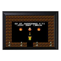 Retro Legend of Zelda Decorative Wall Plaque Key Leash Coat