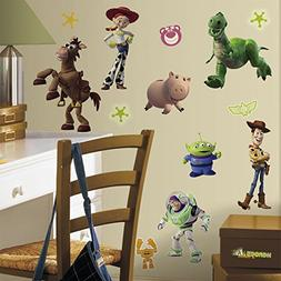 RoomMates RMK1428SCS Toy Story  Peel & Stick Wall Decals Glo