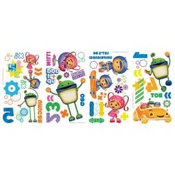 RoomMates RMK1916SCS Team Umizoomi Peel and Stick Wall Decal