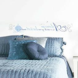ROOMMATES RMK2438SCS Cinderella A Dream is a Wish Peel and S