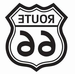 Route 66 Vinyl Die Cut Car Decal Sticker - FREE SHIPPING
