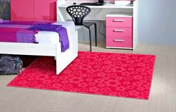 RUGS AREA RUGS CHEAP KIDS PINK LARGE CHILDRENS FLORAL GIRLS