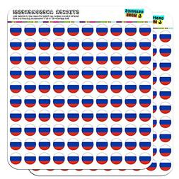 """Russia National Country Flag 1/2""""  Planner Calendar Scrapboo"""