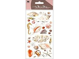 Sticko Sea Shells and Sand Stickers