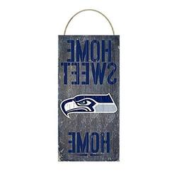 Seattle Seahawks Home Sweet Home Distressed Vintage Sign for