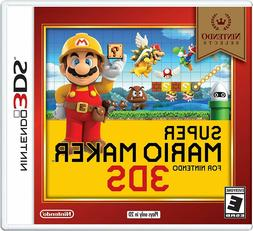 Nintendo Selects: Super Mario Maker 3DS  Brand NEW !!