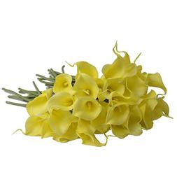 30 Pcs/Set Real Touch Artificial Calla Artificial Flowers fo
