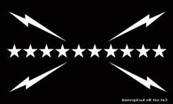 Slumerican Flag Decal for Car, Truck, Window, Laptop or Smoo