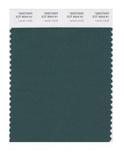 PANTONE SMART 19-5408X Color Swatch Card, Bistro Green