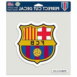 soccer fc barcelona perfect cut color decal