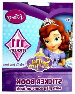 Sofia the First Sticker Book with Play Scene & 111 Stickers!
