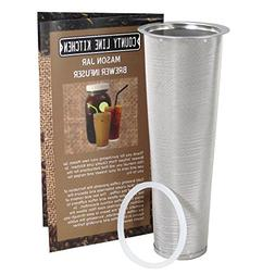 Stainless Steel Filter for Cold Brewed Coffee, Iced Coffee a
