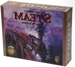Steam Rails to Riches Board Game