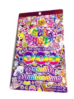 Lisa Frank Sticker Book Over 600 Stickers Unicorn Rainbow Ca