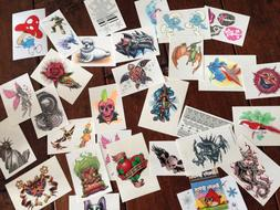 Stickers and Tattoos Mix for flat vend sticker and tattoo bu