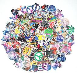 135 Pcs Stickers Pack Variety - Cartoon & Galaxy Style Vinyl