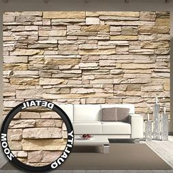Great Art Wall Mural Stone Optic 3D Mural Decoration Stone W