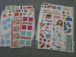 CREATIVE MEMORIES STUDIO STICKER SHEETS - NLA #2
