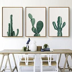 Stylish Cactus Canvas Print, Wall Art, Poster, Home Decor. 3