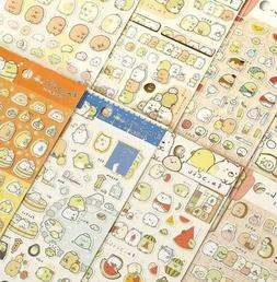 Sumikko Gurashi Stickers Cute Anlimals DIY Japanese Kawaii S