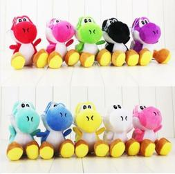 """Super Mario Brothers Yoshi Plush 6"""" Dolls 9 Colors Available"""