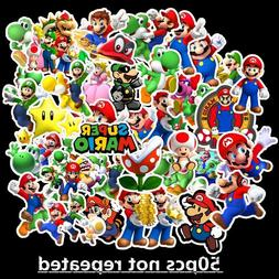 Super Mario Kids Nursery Removable Wall Decal Stickers Art H
