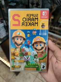 Super Mario Maker 2 - Nintendo Switch - Factory Sealed!