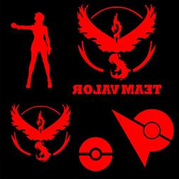 Team Valor Vinyl Decal MultiPack