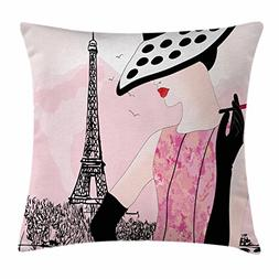 Teen Room Decor Throw Pillow Cushion Cover by Ambesonne, Sex