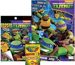 Teenage Mutant Ninja Turtles Coloring and Activity Book, Rew