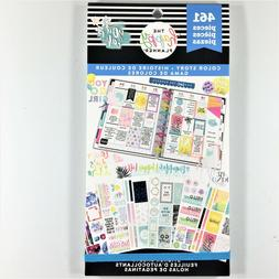 The Happy Planner Color Story Sticker Book Pack Of 461 Me &