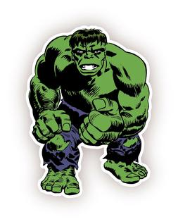 The Incredible Hulk Cartoon  Sticker Decal 5""