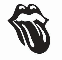 The Rolling Stones Tongue Music Vinyl Die Cut Car Decal Stic