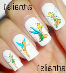 Tinkerbell Disney Nail Art Peter Pan Water Decals Stickers M