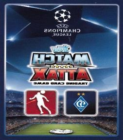 Topps Match Attax UK Champions League - Dynamo Kiev 18 Card