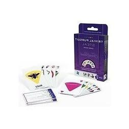 Toy / Game Hasbro Trivial Pursuit Card Game  - All In A Quic
