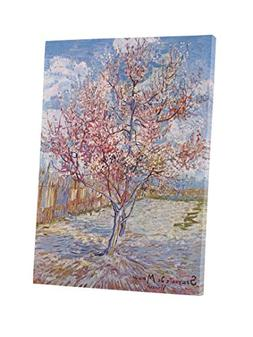 Niwo Art  - Pink Peach Tree in Blossom, by Vincent van Gogh