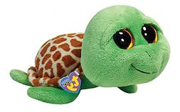 "TY Beanie Boos 6"" Zippy the Turtle, Perfect Plush!"