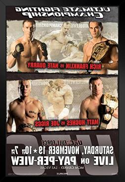 UFC 56 Rich Franklin vs Nate Quarry Sports Framed Poster 12x