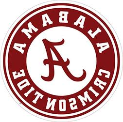 "UNIVERSITY OF ALABAMA Extra Large 18"" Decal"
