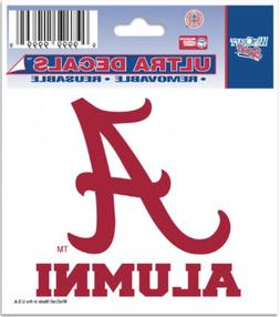 UNIVERSITY OF ALABAMA ALUMNI DECAL FOR CAR TRUCK AUTO LAPTOP