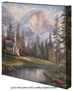 Valley Chapel – 14 x 14 Gallery Wrapped Canvas
