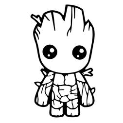 Vinyl Car Decal Disney Guardians of the Galaxy Groot Sticker